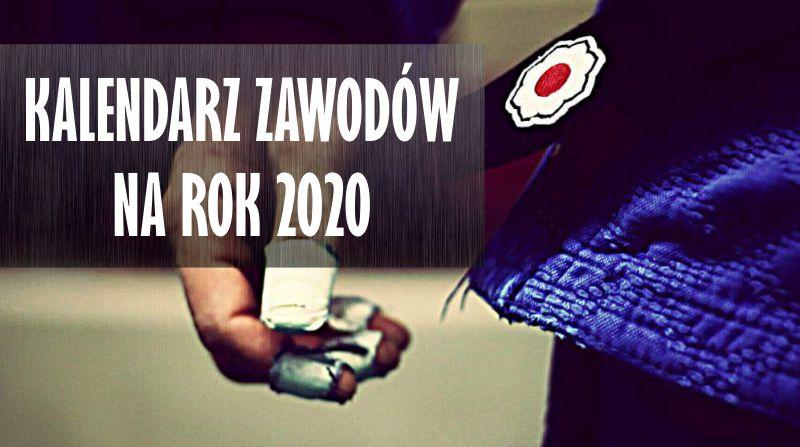 KALENDARZ ZAWODÓW NA ROK 2020