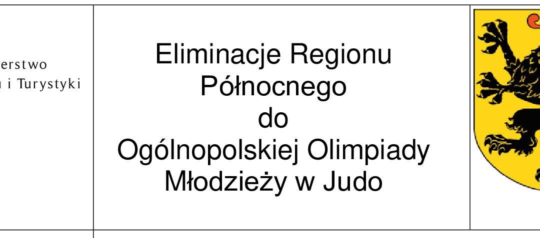 Eliminacje Regionu Północnego do Ogólnopolskiej Olimpiady Młodzieży w Judo [04.10.2020]